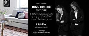 Isabell Andén och Petra Jensen, inredningsstylister på Bjurfors Home.