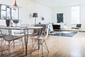matsal med stolar