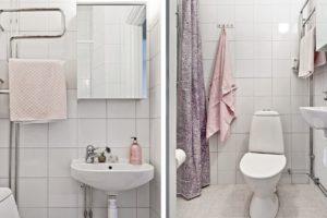 badrum detaljer spegel styling